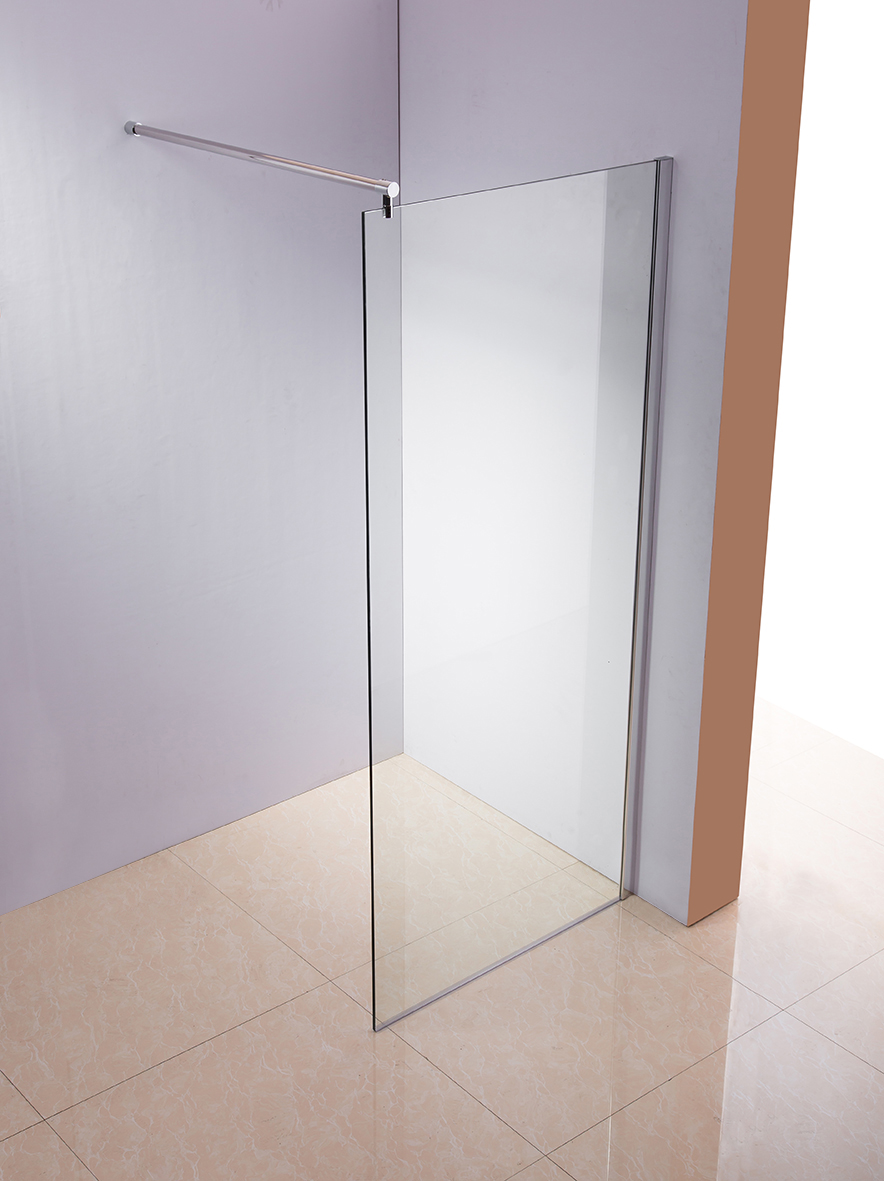 walk in duschwand 10mm esg glas duschkabine. Black Bedroom Furniture Sets. Home Design Ideas