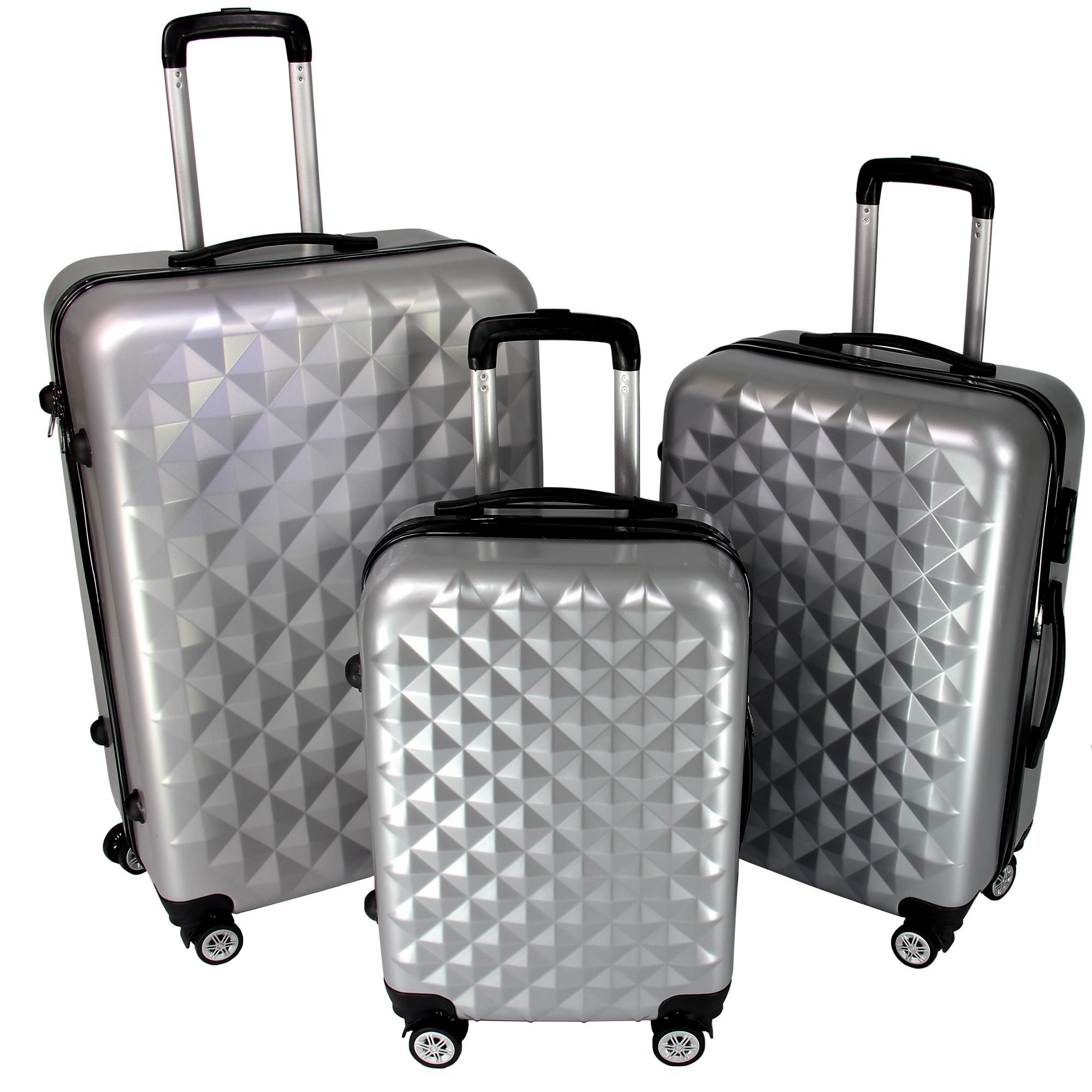 ensemble de valises valise de voyage chariot valise. Black Bedroom Furniture Sets. Home Design Ideas