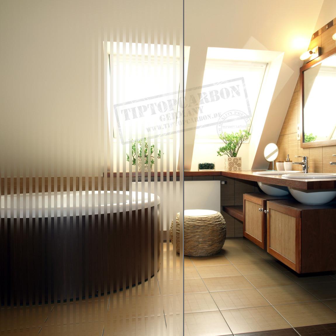 ✓ Premium Spiegelfolie Milchglas Folie Sichtschutz Folien