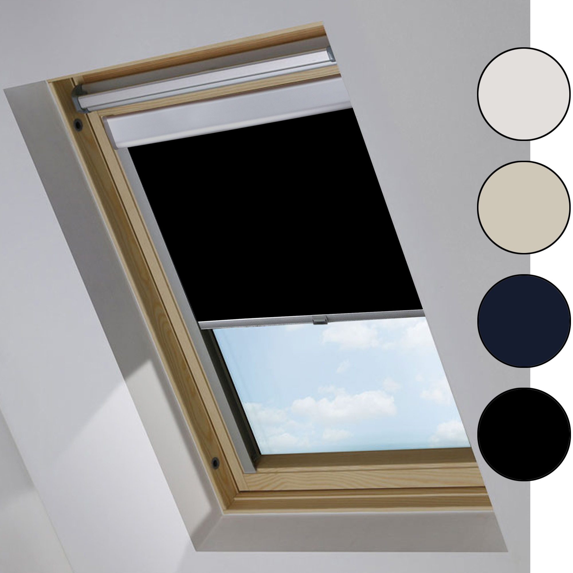 Verdunkelungsrollo passend f r velux dachfenster for Verdunkelungsrollo fur velux dachfenster