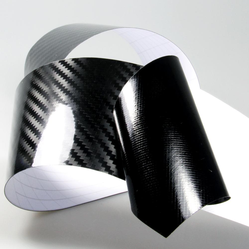 9 m 5d carbon carbonfolie autofolie folie auto schwarz. Black Bedroom Furniture Sets. Home Design Ideas