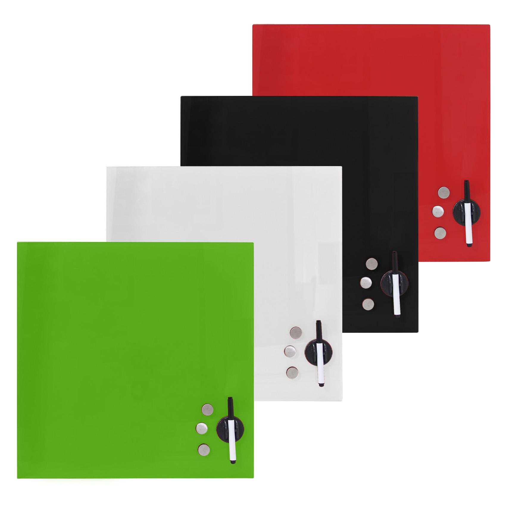 panneau d 39 affichage verre tableau aimants de blanc mural magnet board ebay. Black Bedroom Furniture Sets. Home Design Ideas