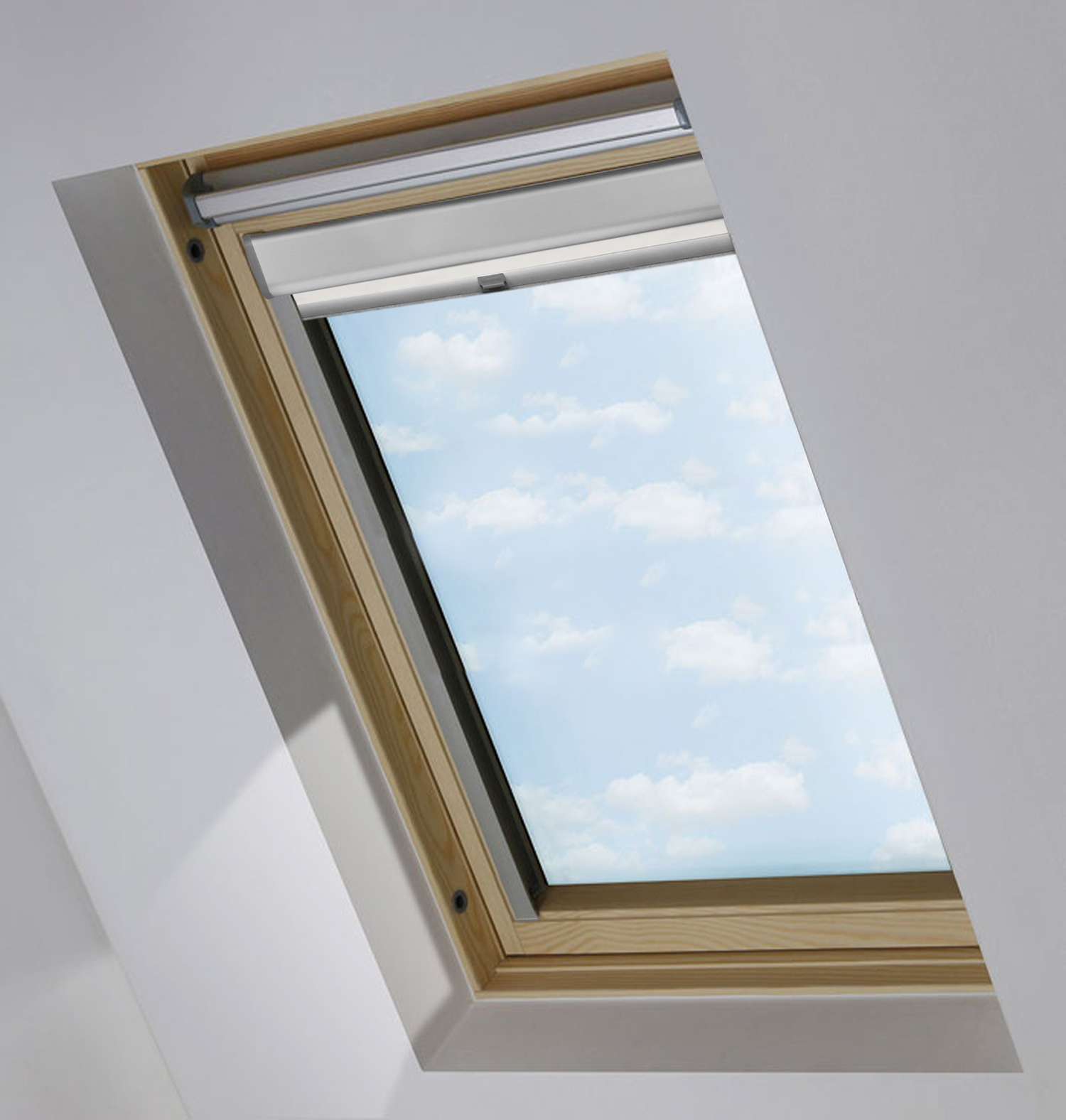 verdunkelungsrollo passend f r velux dachfenster thermorollo verdunkelung rollo ebay. Black Bedroom Furniture Sets. Home Design Ideas