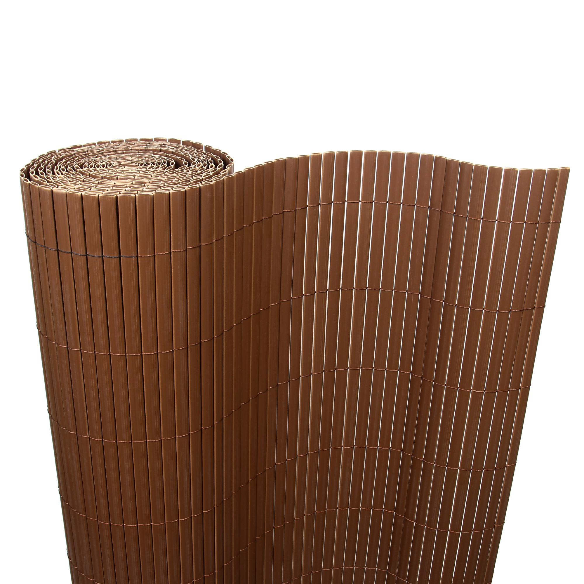 8 M Bambou Pvc Pare Vue Tapis Pare Vue Balcon Cloture Jardin