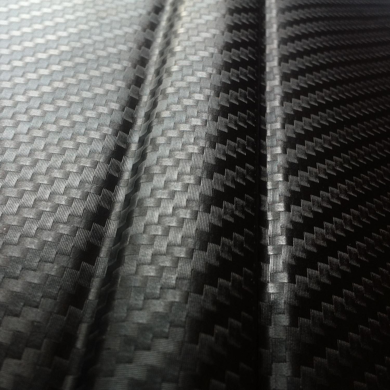 4 94 m premium 3d carbon folie schwarz autofolie. Black Bedroom Furniture Sets. Home Design Ideas