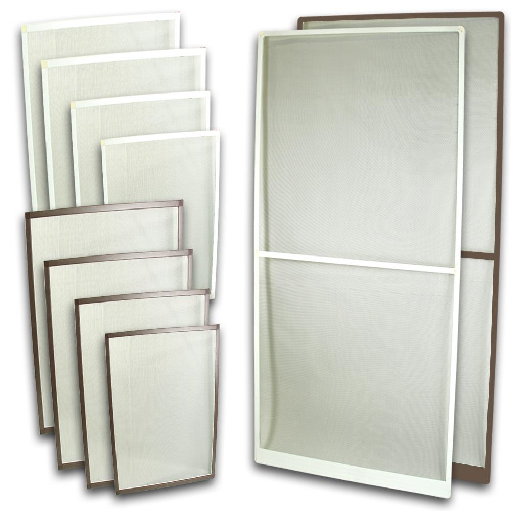 fliegengitter fenster insektenschutz fenster u t r alu rahmen m ckengitter ebay. Black Bedroom Furniture Sets. Home Design Ideas