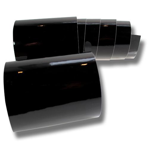 6 57 m blasenfreie hochglanz folie schwarz autofolie glanz 3d flex wrap auto ebay. Black Bedroom Furniture Sets. Home Design Ideas