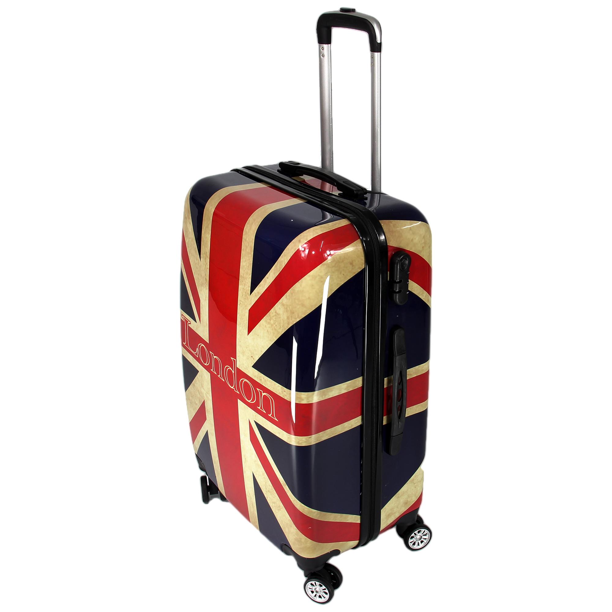 koffer set reisekoffer butterfly england trolley. Black Bedroom Furniture Sets. Home Design Ideas