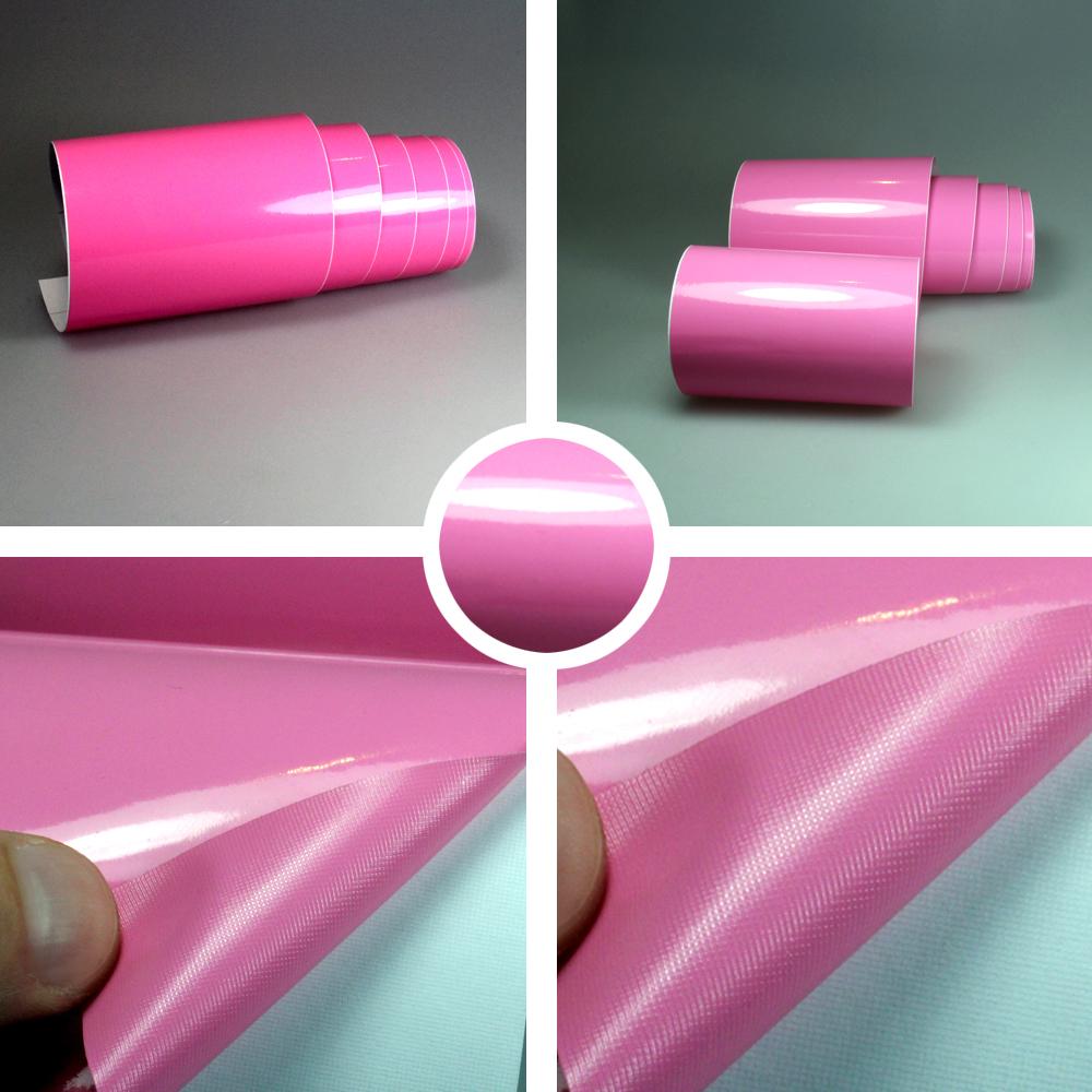 Matt  mit Luftkanäle Pink in 3D Carbon 9,18€//m² Premium Auto Folie Rosa