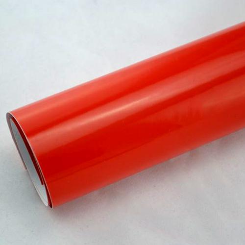 6 57 m hochglanz folie rot red 152 cm breit for Hochglanz folie