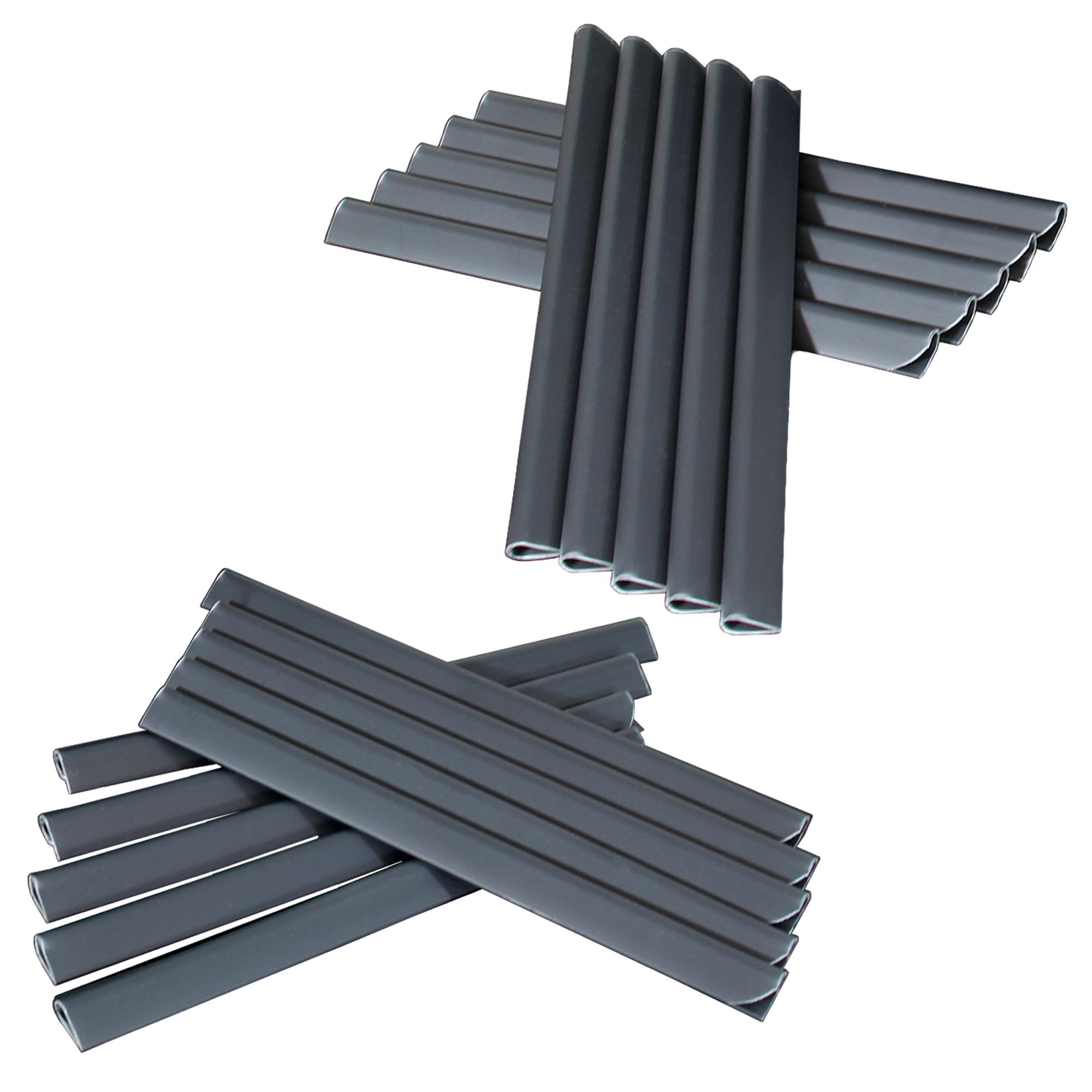 3 19 m pvc sichtschutz streifen doppelstabmatten zaun folie plane rolle ebay. Black Bedroom Furniture Sets. Home Design Ideas