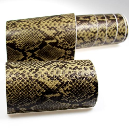 17 24 m premium 3d snake schlangen leder auto folie for Klebefolie orientalisch